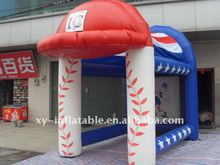 customized inflatable batting cage