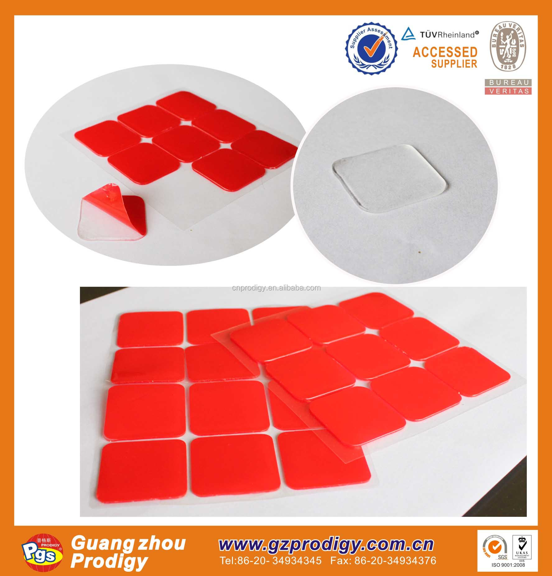 adhesive double sided mounting stickers double glue dots