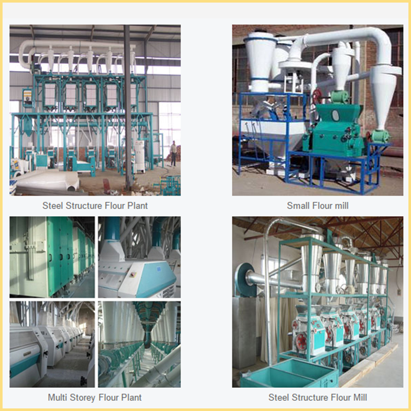 low price small scale wheat flour mill machinery