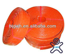 fire resistance & heat resistant fiberglass sleeving for cable protection