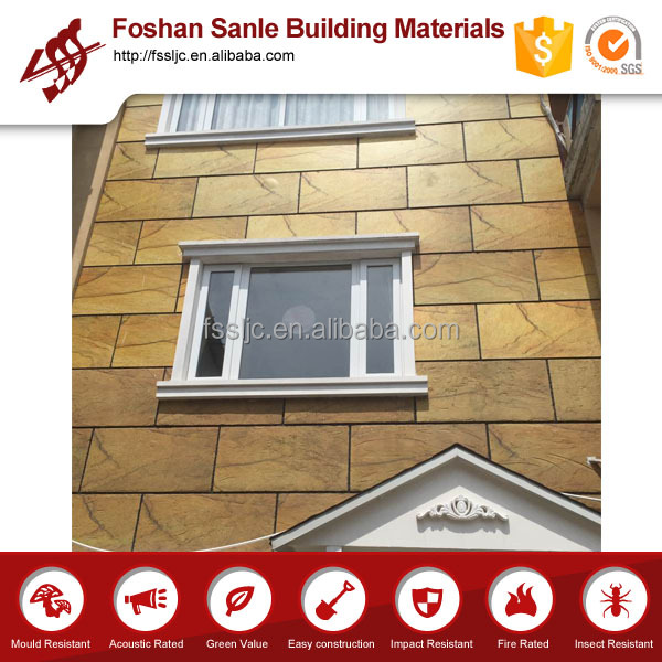 Decoration Stone Wall Surface Fiber Cement Board Decorative Metal Exterior Panel