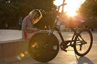Electric Bike Conversion Kit/Smart Wheel for Normal Bikes Hot in America