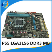 Computer Parts Factory direct sale P55 motherboard LGA 1156 DDR3 motherboard
