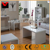 Wholesale design home living room glossy lacquer mdf wooden table furniture