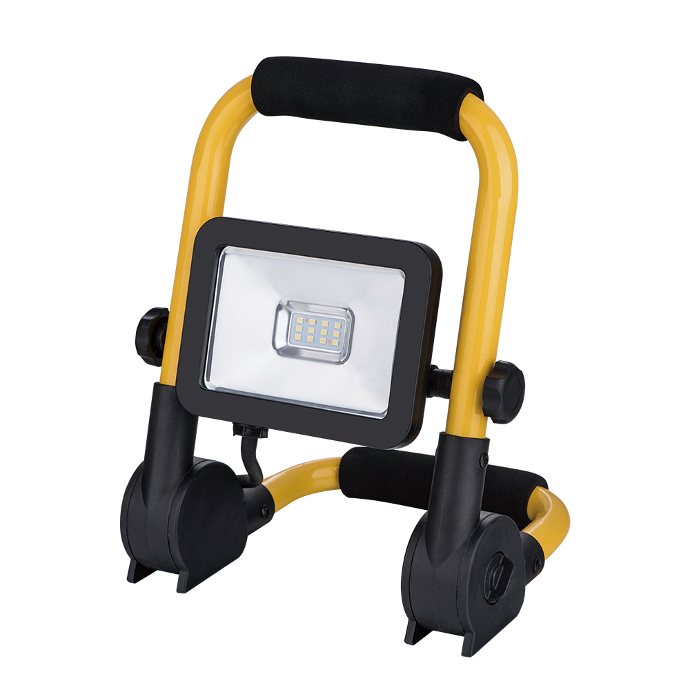 10 <strong>W</strong> 900 Lumens Outdoor Waterproof Portable 12 SMD led lights fixture flood light for Job Site Work Light