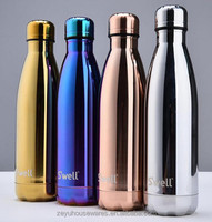 Wholesale Hot selling high quality 304 food Stainless steel double wall insulated vacuum flasks-NO.WZ001