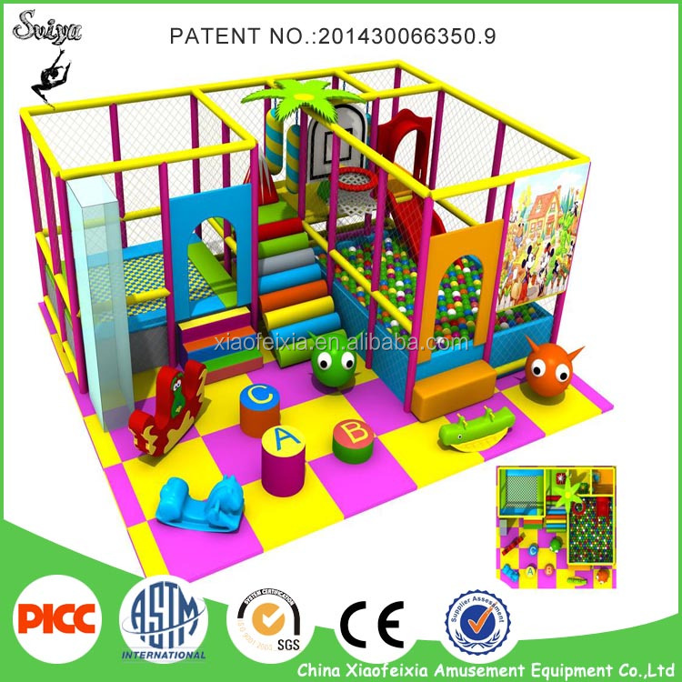 Popular Game Indoor Kids Playground Mini Playground For Sale