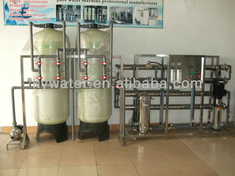 2000L/H Low price SUS 316 RO power plant boiler feed water treatment with CE