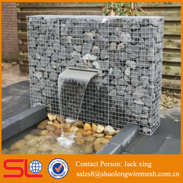 hexagonla welded mesh and galvanzied after weaving gabion baskets