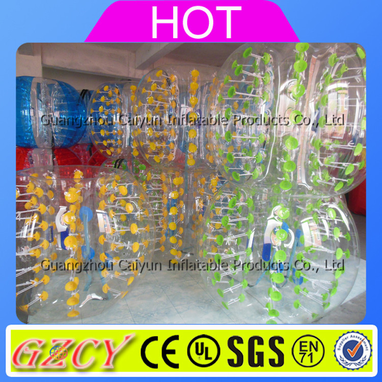 Crazy Football Sports Used Inflatable Bubble Ball Body Bumper Ball For Adult