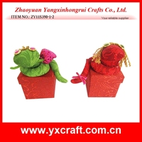 High quality best price factory produce christmas fabric craft / christmas indoor decoration / xmas
