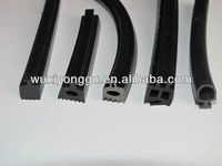 Aluminum curtain wall seal gasket