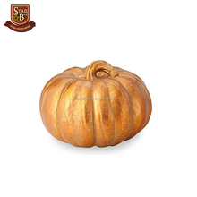 Custom made polyresin artifical crafts resin pumpkins for sale