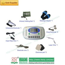 New product smart infrared heating therapy electronic pulse massager electro acupuncture device