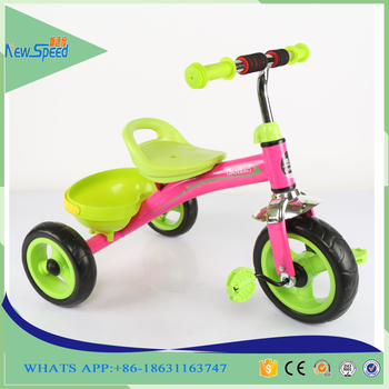 Factory wholesale cheap 3 Wheel Tricycle Kids Baby Ride On Toys Child Tricycle