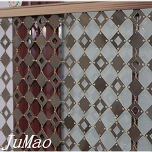 Metal slice chain curtains for building decoration,room dividers,screen