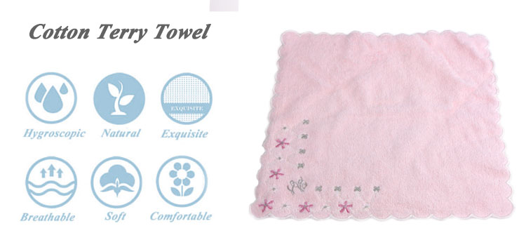 100% cotton baumwolle cotton cabinet roller square towel for oshibori