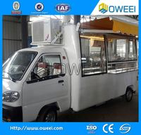 snack selling vechicle fast food trucks for sale in china