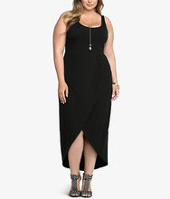2016 Summer Maxi Dresses 6XL Fat Lady Plus Size Dress Womens Sleeveless Long Dresses Casual Women Jersey Vestidos