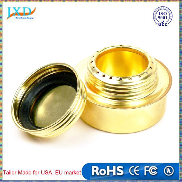 Portable Mini Copper alloy Outdoor Camping Stove Ultra-light Copper Spirit Burner Alcohol Stove