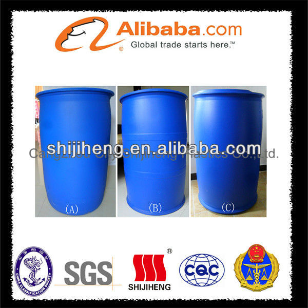200L closed plastic drums