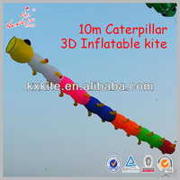 Kaixuan kite factory Caterpillar 3d inflatable kite