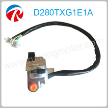 Motorcycle left three button handlebar horn button switch