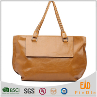 P001-A1634 brown oily leather weekend bag handmade leather vintage bag leather bags in dubai