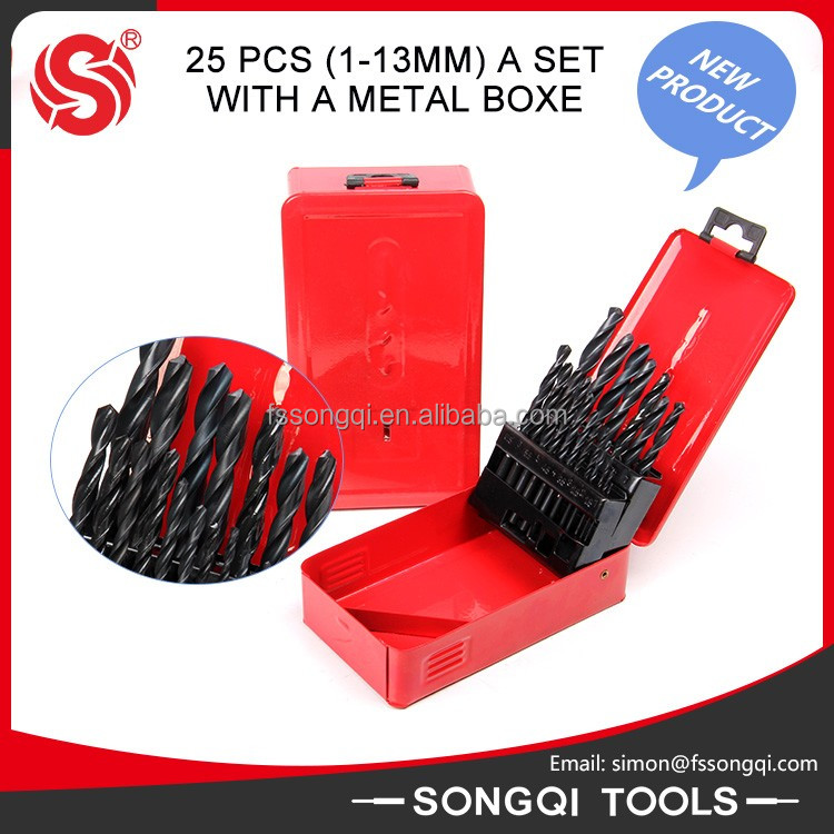 Wholesale Plastic Box HSS Drill Bit Steel Tube Drilling