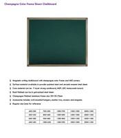 400 * 100 cm magnetic chalk board
