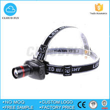 Mini LED Headlamp headlight 3 Mode Energy Saving Outdoor Sports Camping Fishing Head Lamp LED Flashlights Black