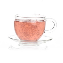 glass cup with handle / wholesale glass tea cup sets