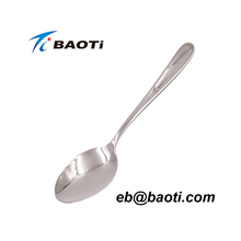 outdoor camping titanium spoon titanium tableware spoon