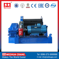 Factory Direct Sale WEIHUA Brand High Quality Electric Winch, double drum winch