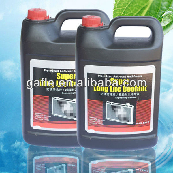 High boiling point and low freezing point glycol antifreeze coolant