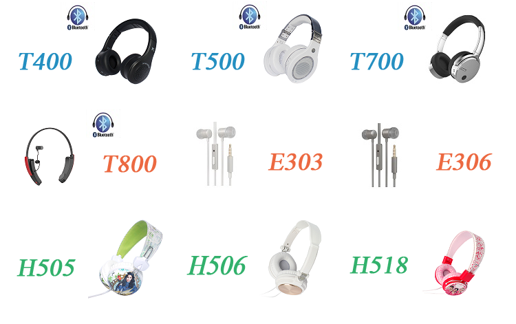 Electronic consumer product in-ear wireless sport bluetooth headset