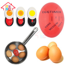 Reliable Factory Kitchen Gadget Hot Magic Color Changing Egg Rite Egg Timer Time Cook Boil Eggs Thermometer