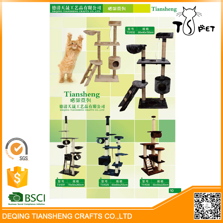 Comfortable OEM Design Wholesaler Deluxe Cat Tree