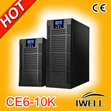 110V/220V Online Single Phase power system 6KVAC/5KW UPS
