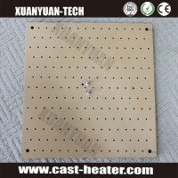 teflon Cast aluminum hot plate for heat transfer
