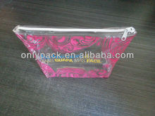 soft pvc bag with zipper