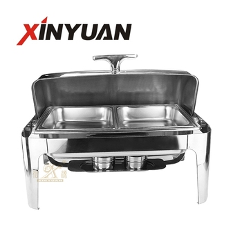 stainless steel rectangular chafing dish FT-02402