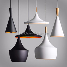 popular modern wooden add aluminum pendant lamp