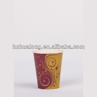 8oz disposable PLA coated single wall hot drink coffee/ beverage paper cup