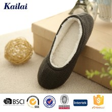 cute soft sole cashmere woman dance shoe