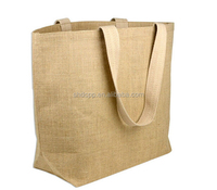 Customized hot-sale jute shopping tote bag