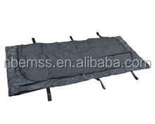 pvc black double zipper mortuary body bags for funeral