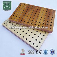 reflective ceiling panels/wooden perforated acoustic panel
