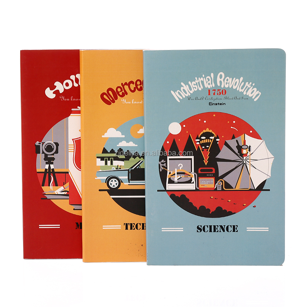 2016 custom paper notebook school supplies wholesale