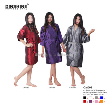 high grade Soft kimono gown popular in hairdressing salon